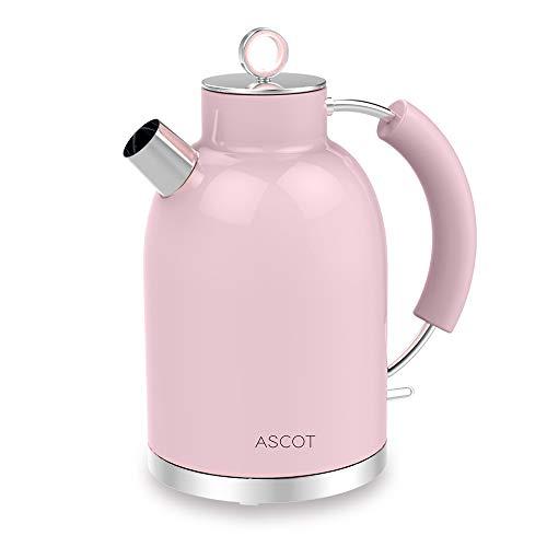 ASCOT Wasserkocher Edelstahl Farbvarianten