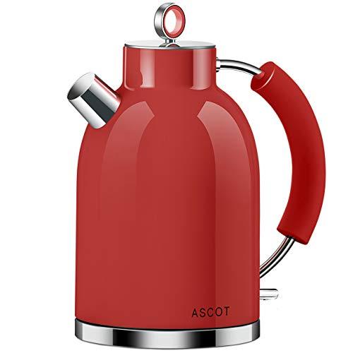 ASCOT Wasserkocher rot