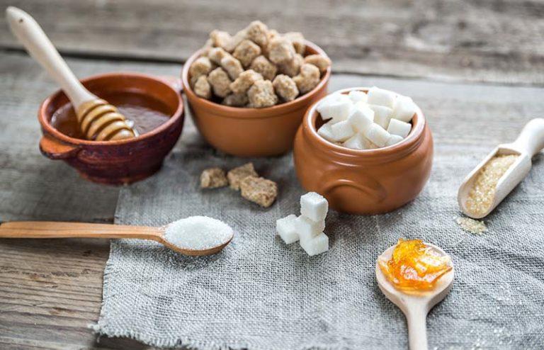 Zuckerersatz - Verschiedene Zuckersorten
