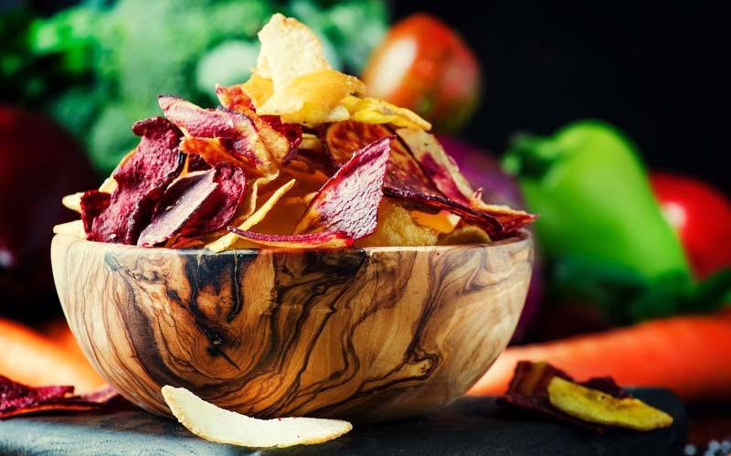 Sind Gemüsechips gesund oder nicht?