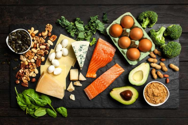 Kohlenhydratarme Lebensmittel für die ketogene Ernährung