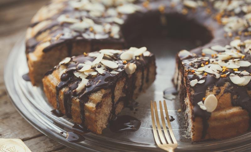 Low Carb Kuchen enthalten meist einen Mehl- und Zuckerersatz