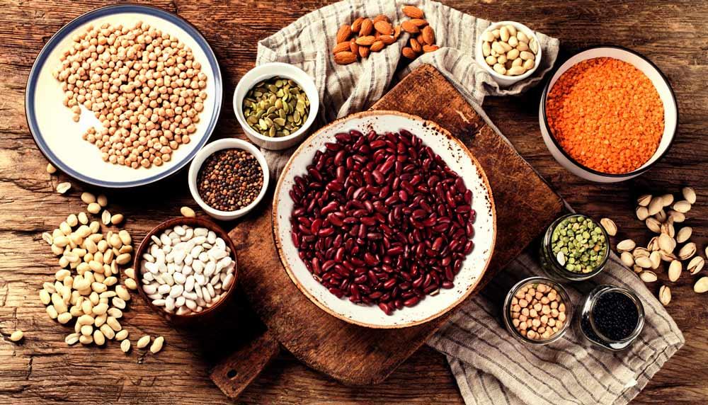 Hülsenfrüchte enthalten viel Eiweiß