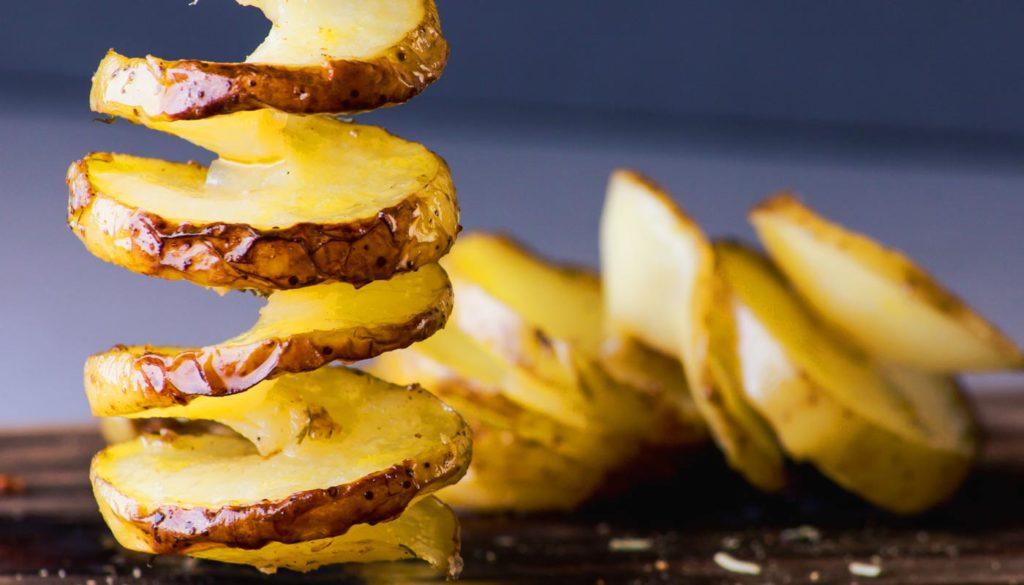 Kartoffel Spiralschneider