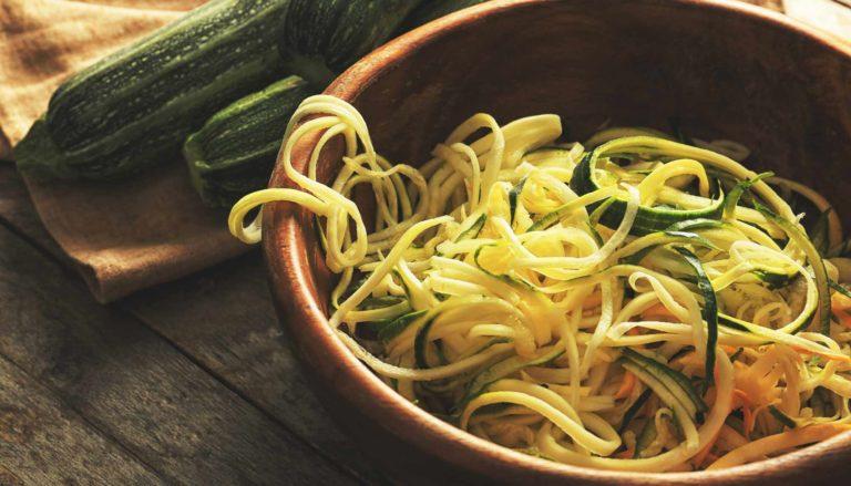 Gemüsenudeln selber machen