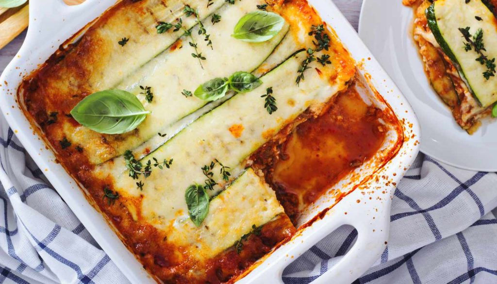 Lasagneplatten aus Zucchini