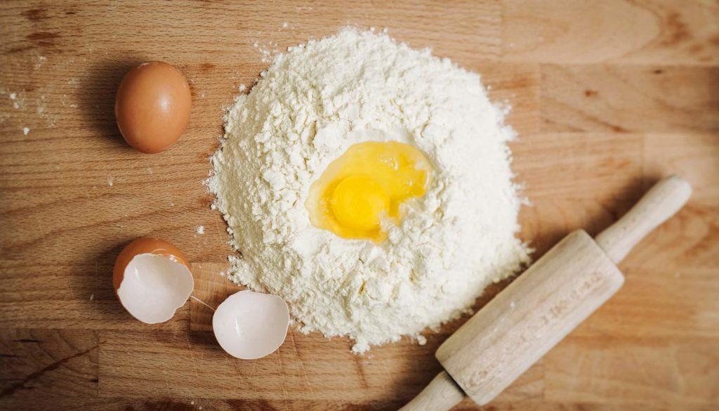 Zutaten für Pastateig 2