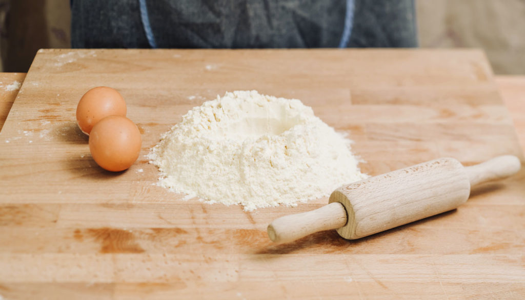 Zutaten für Pastateig 1