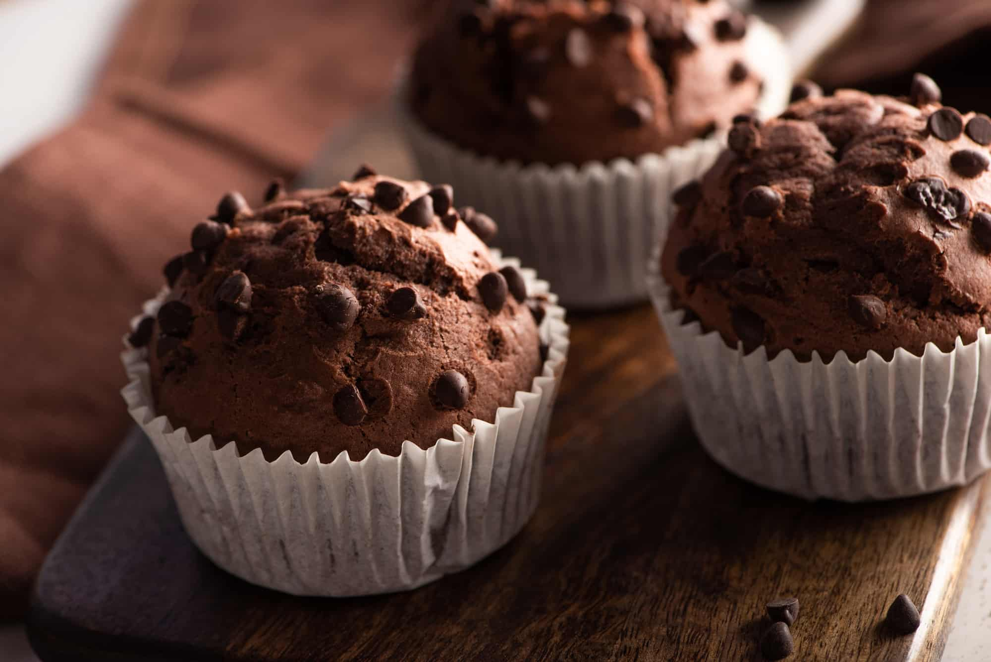 Low carb schoko muffins
