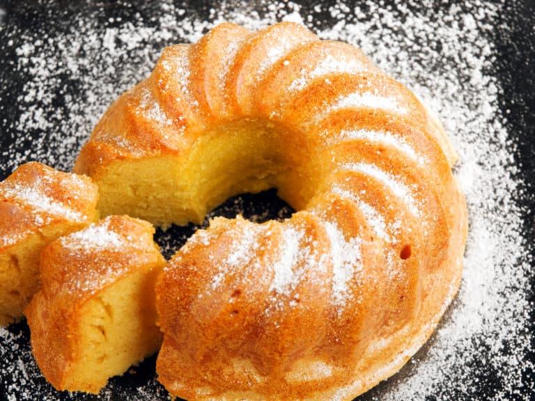 Low carb vanillekuchen