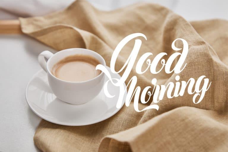 Kaffee Guten Morgen Sprüche