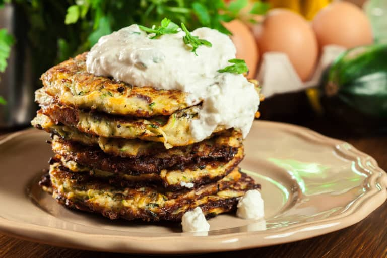 Low Carb Zucchini Pfannkuchen Rezept