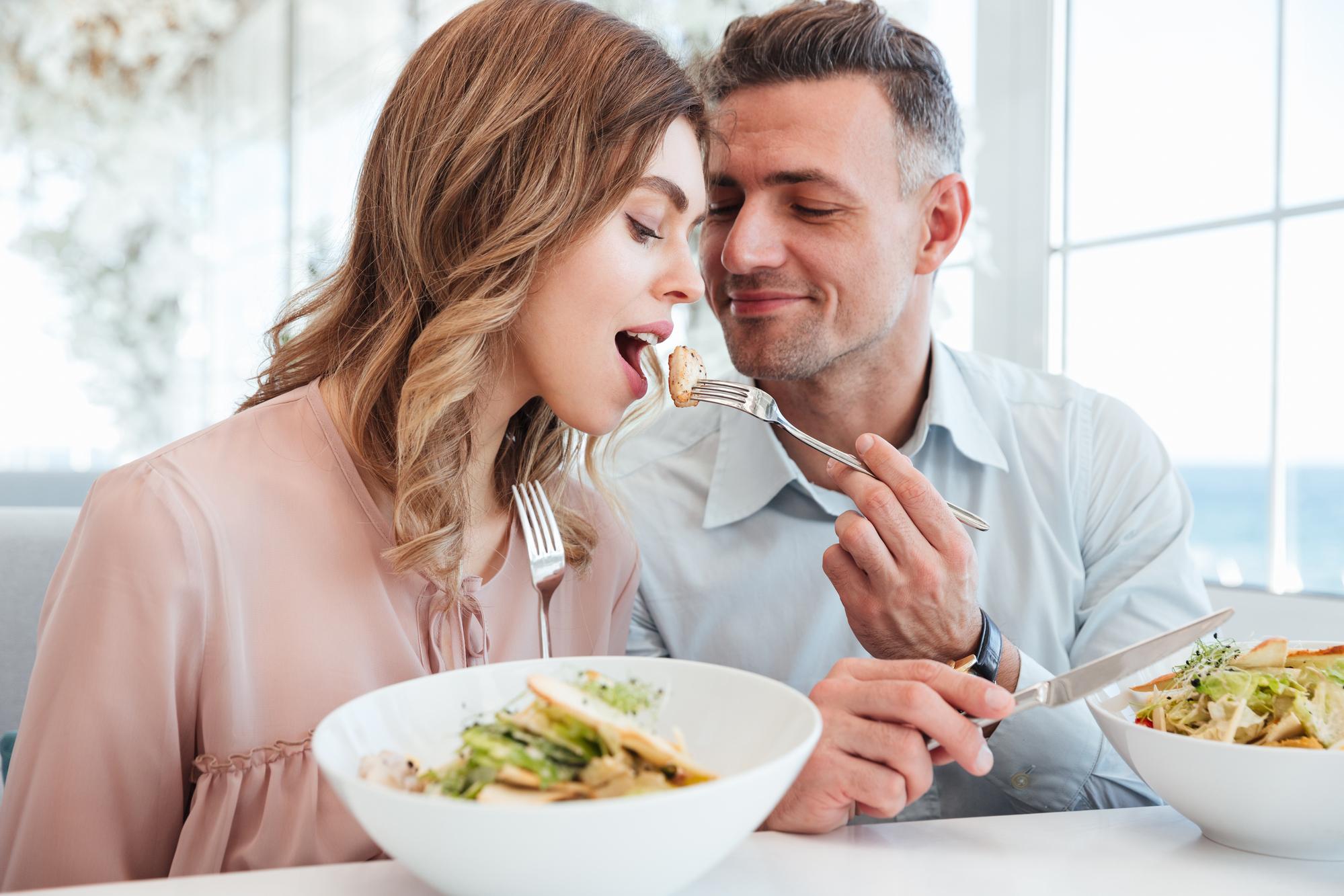 Zitate über Essen und Liebe